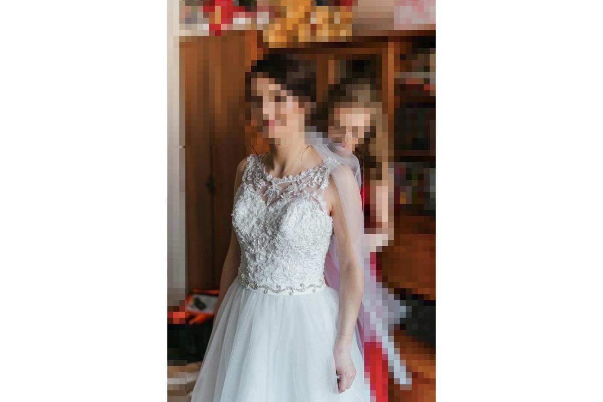 Suknia ślubna S/M