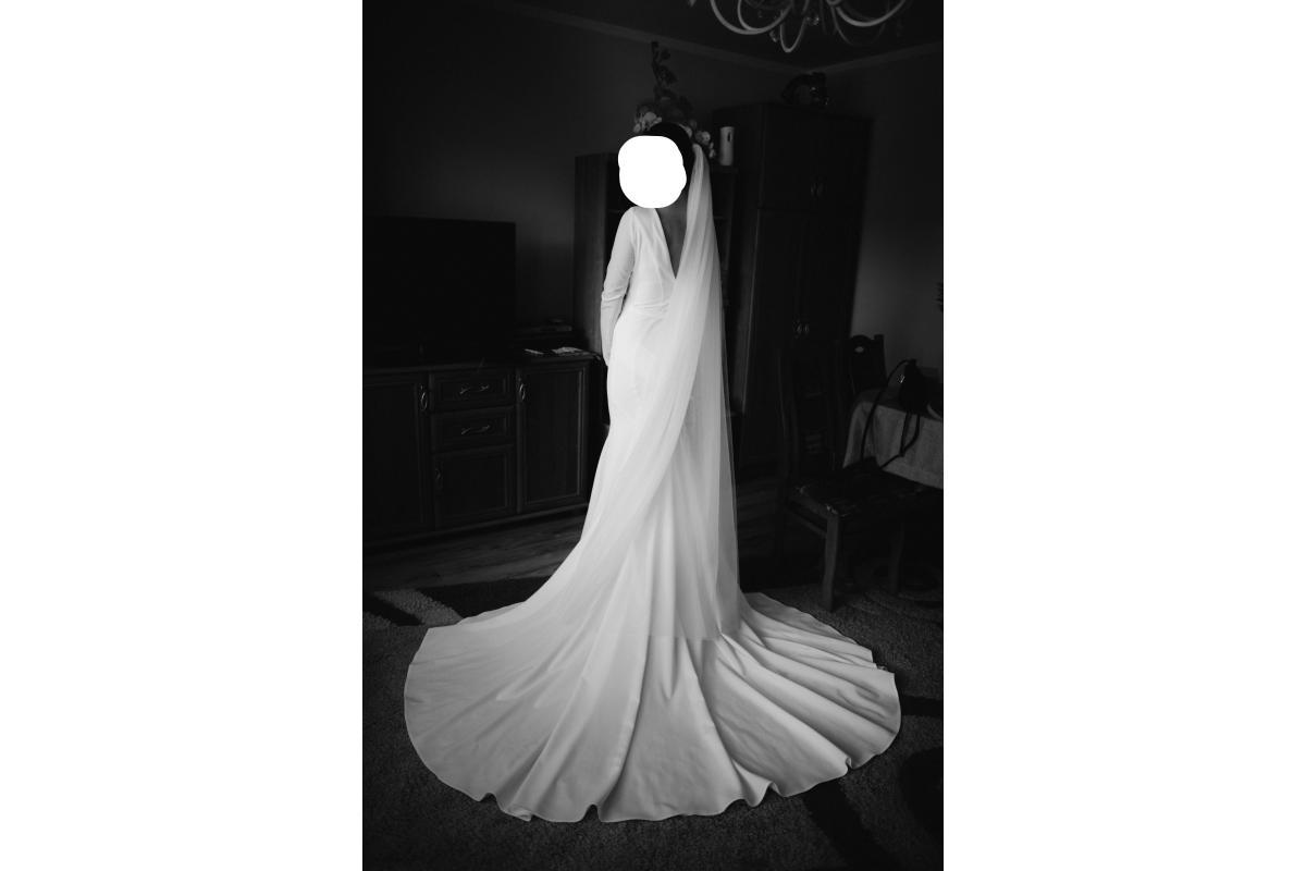 suknia ślubna inspiracja księżnej Sussexu Meghan