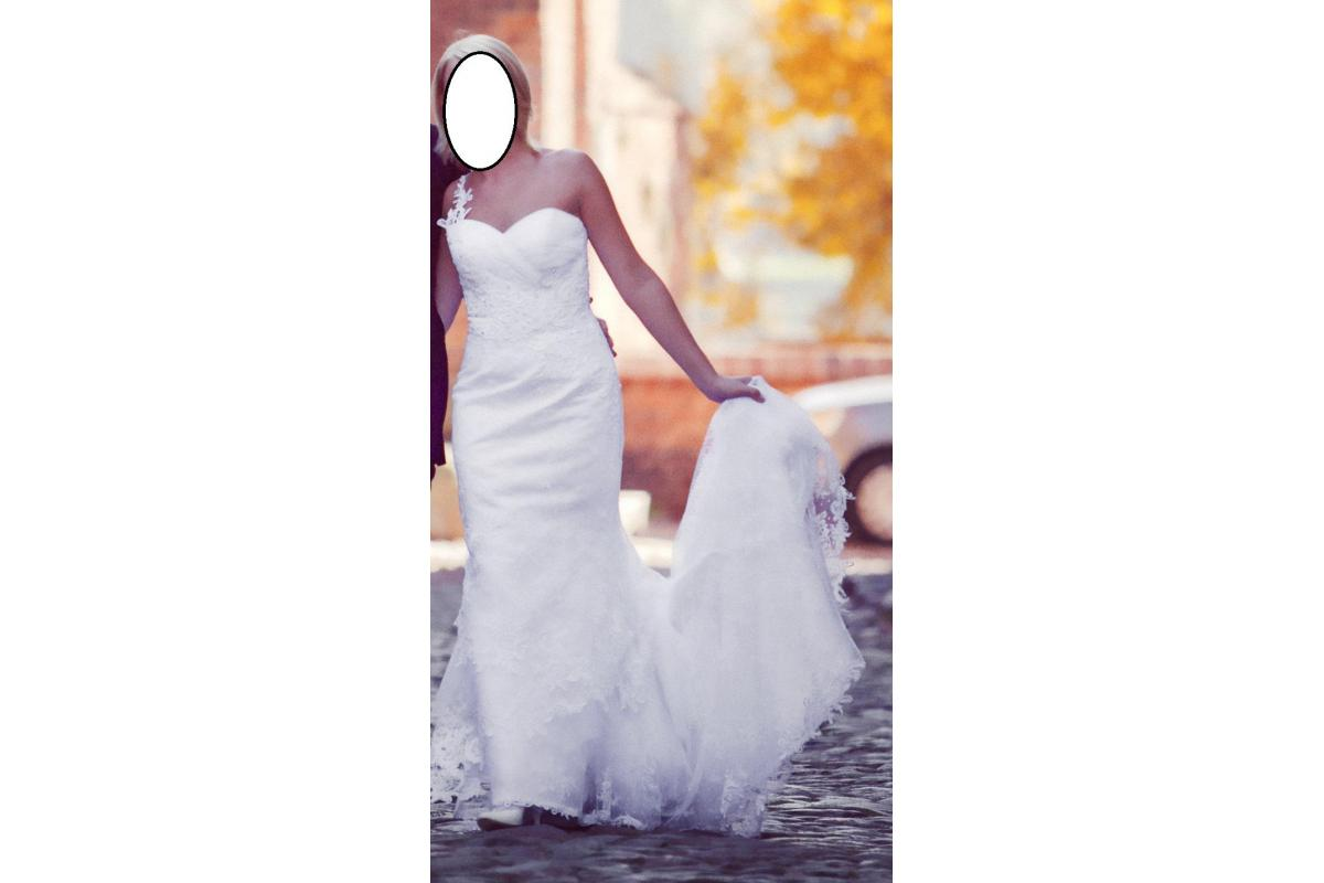 Suknia ślubna ( kryształki Swarovski )