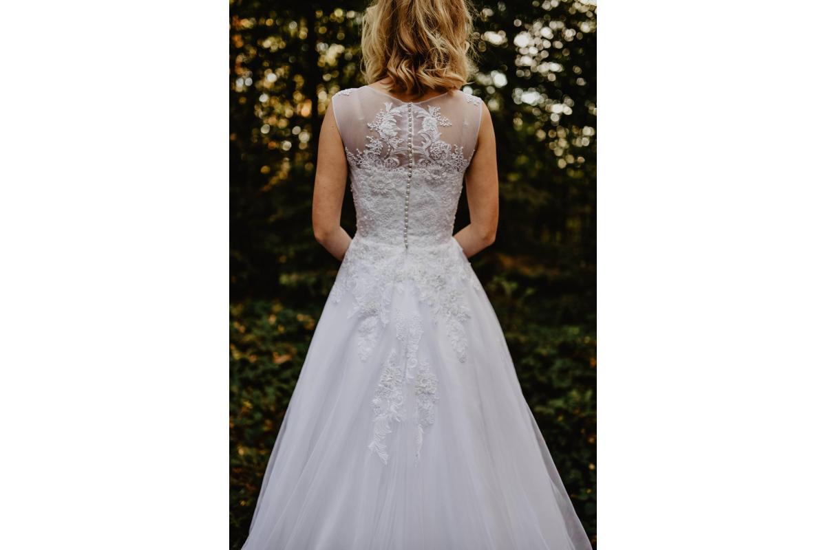 suknia ślubna Afrodyta model Burbon