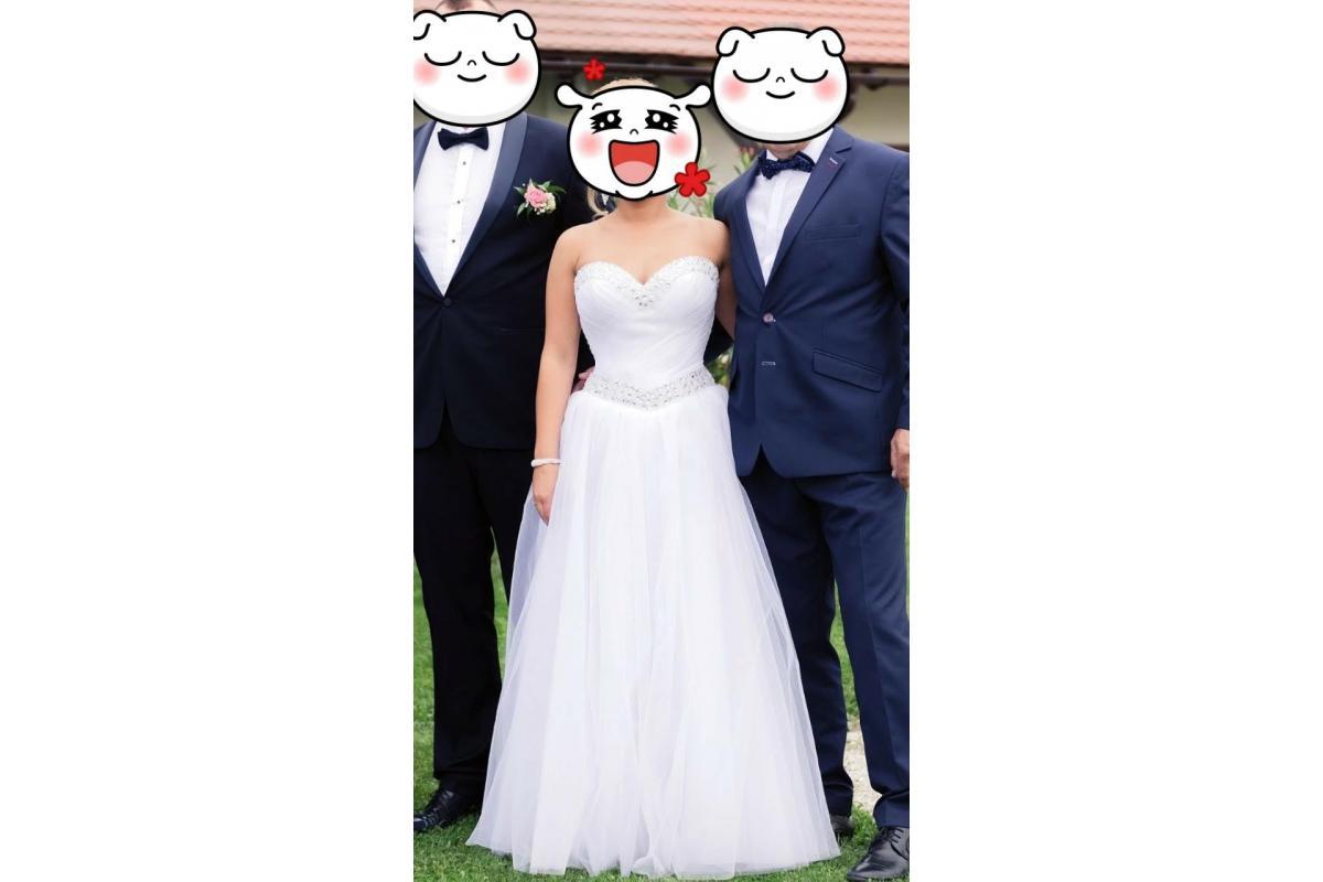 Sprzedam suknie ślubną Oksana, rozmiar 36-38 + bolerko GRATIS !