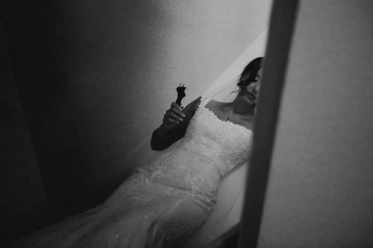 Piękna, egancka, romantyczna suknia ślubna