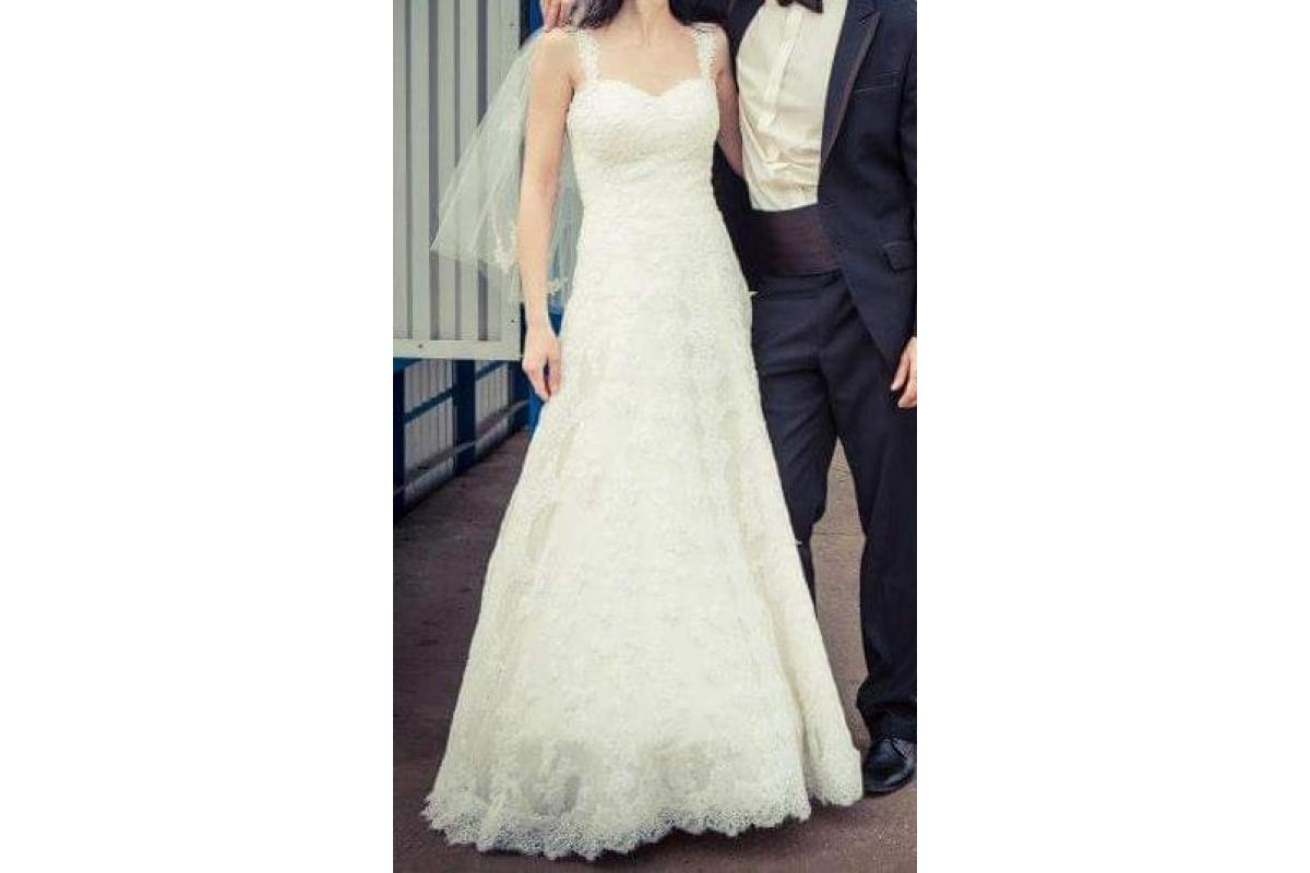 Suknia La Sposa dla wysokiej osoby