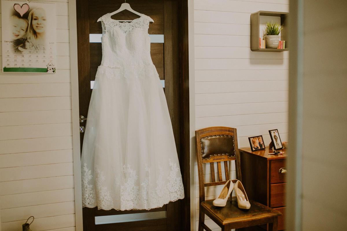 Suknia Ślubna koronkowa typ A