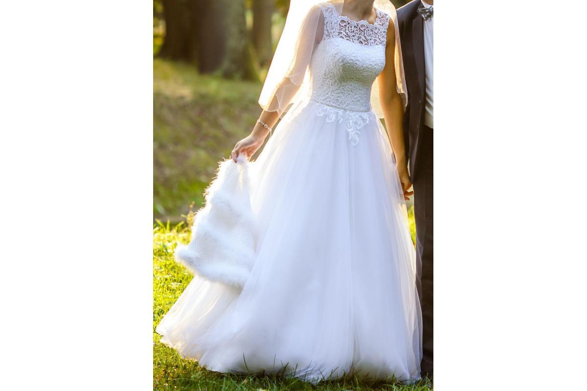 Suknia ślubna/princessa/biała