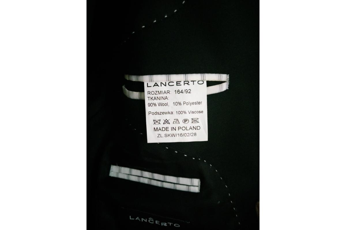 Garnitur męski Lancerto
