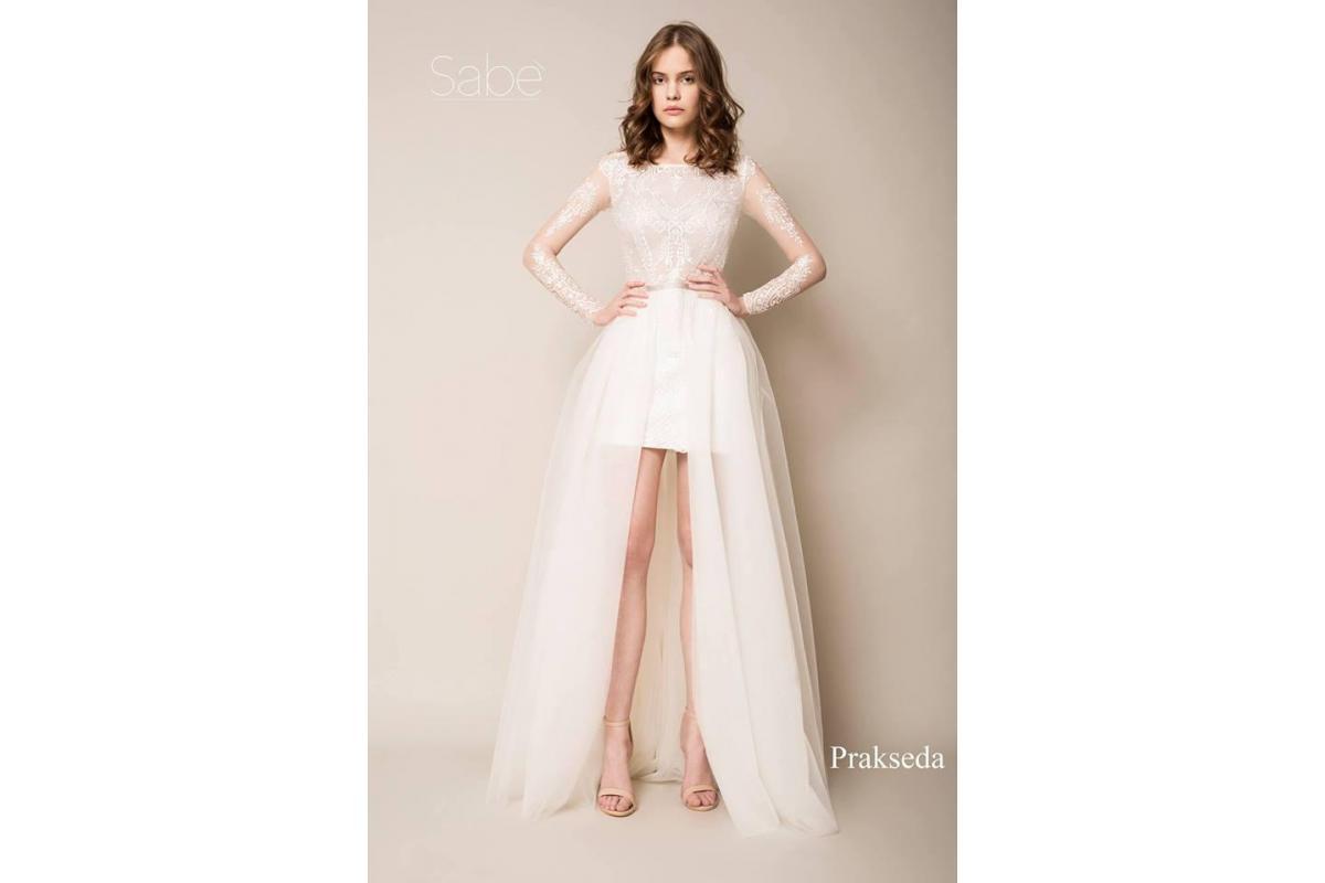 suknia ślubna z kolekcji Sabe