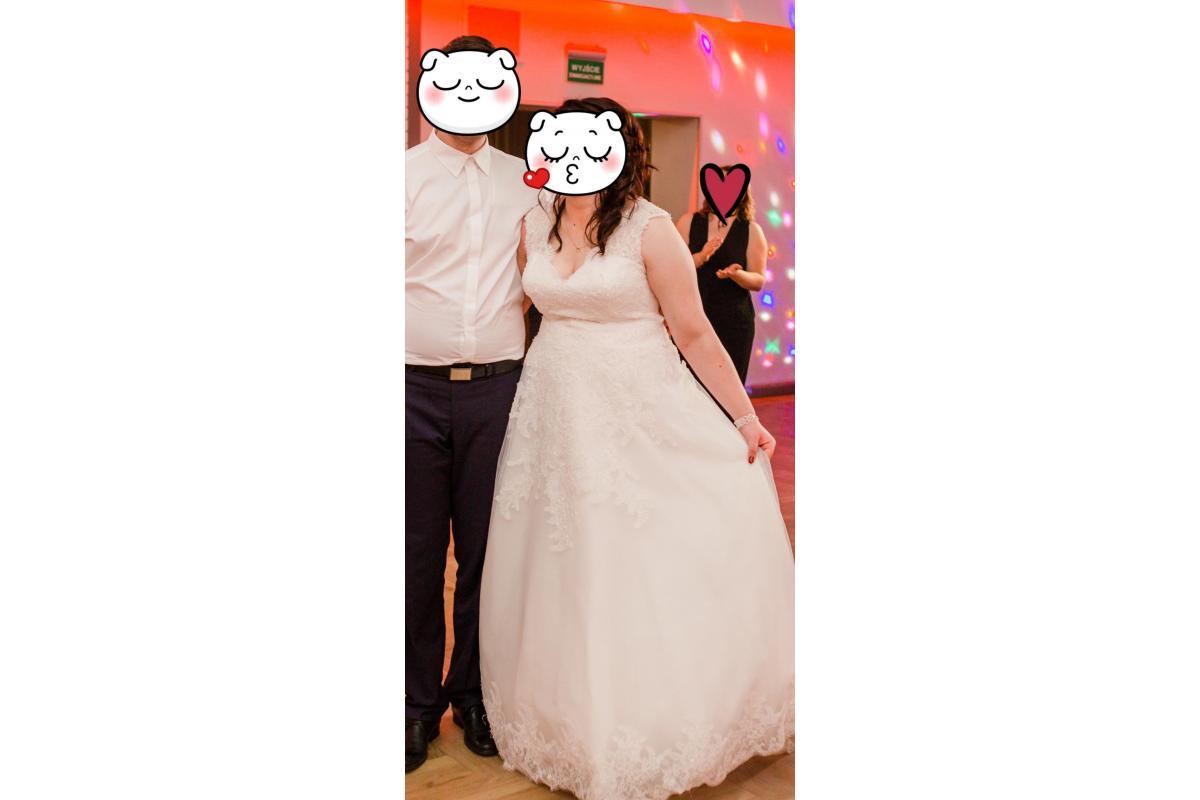 Suknia ślubna +size