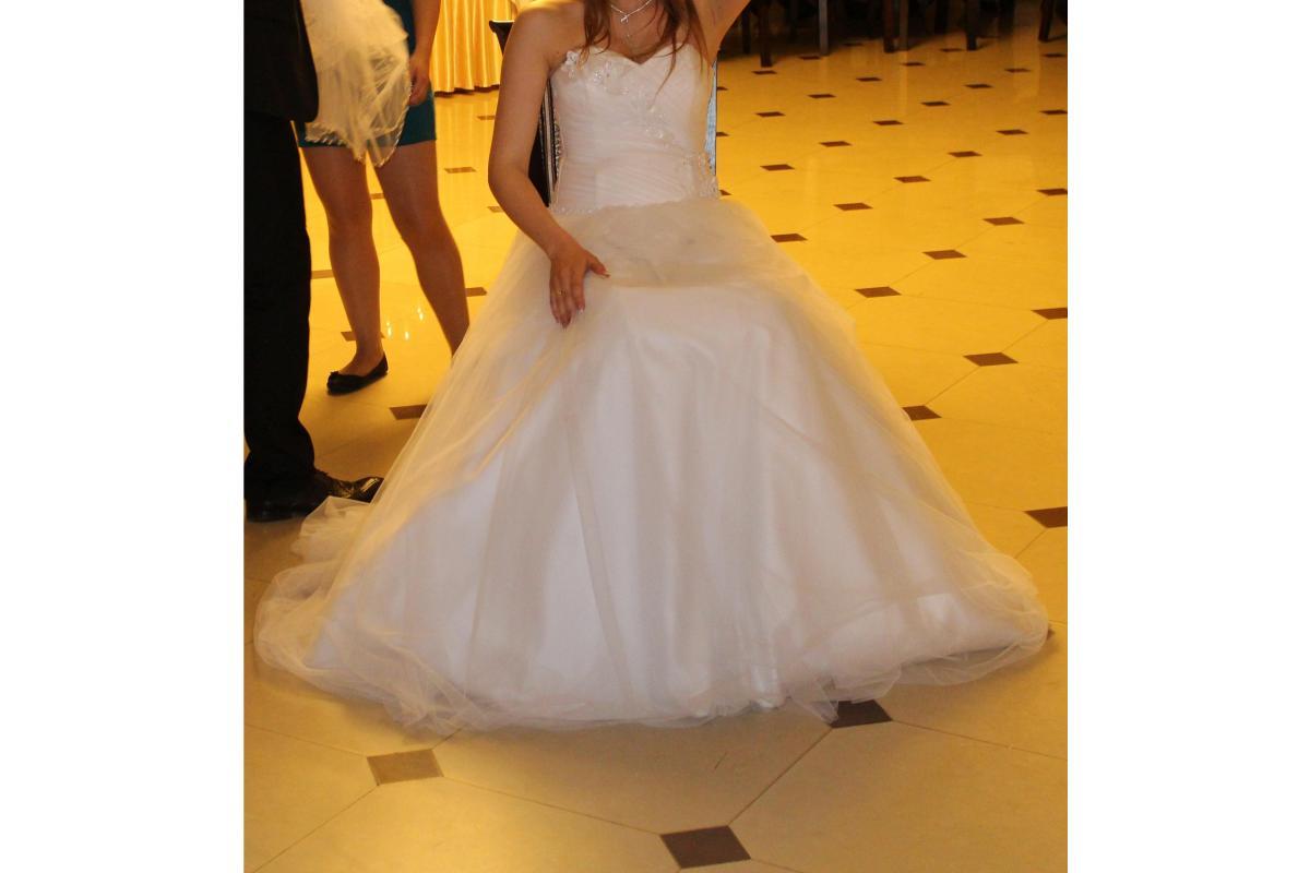 suknia ślubna rozm M gotowa lub do przeróbki