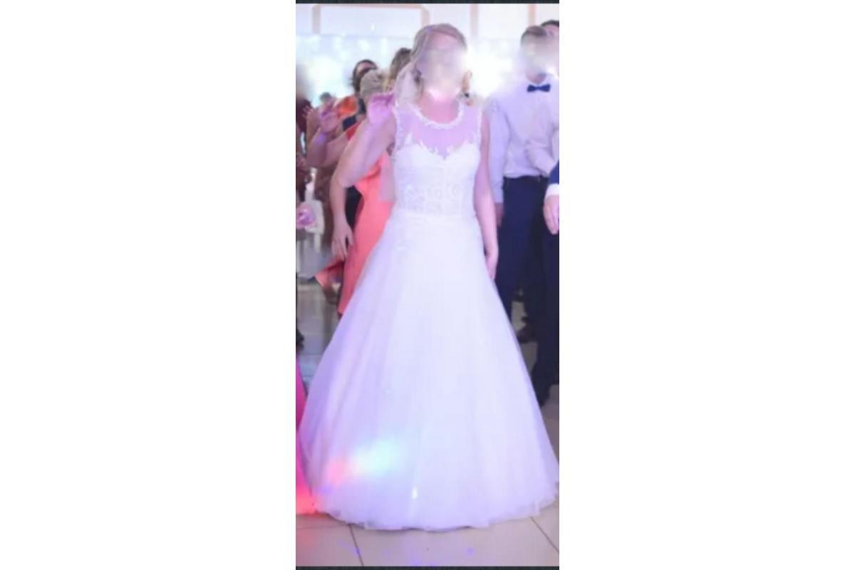 Piękna suknia ślubna jak nowa!