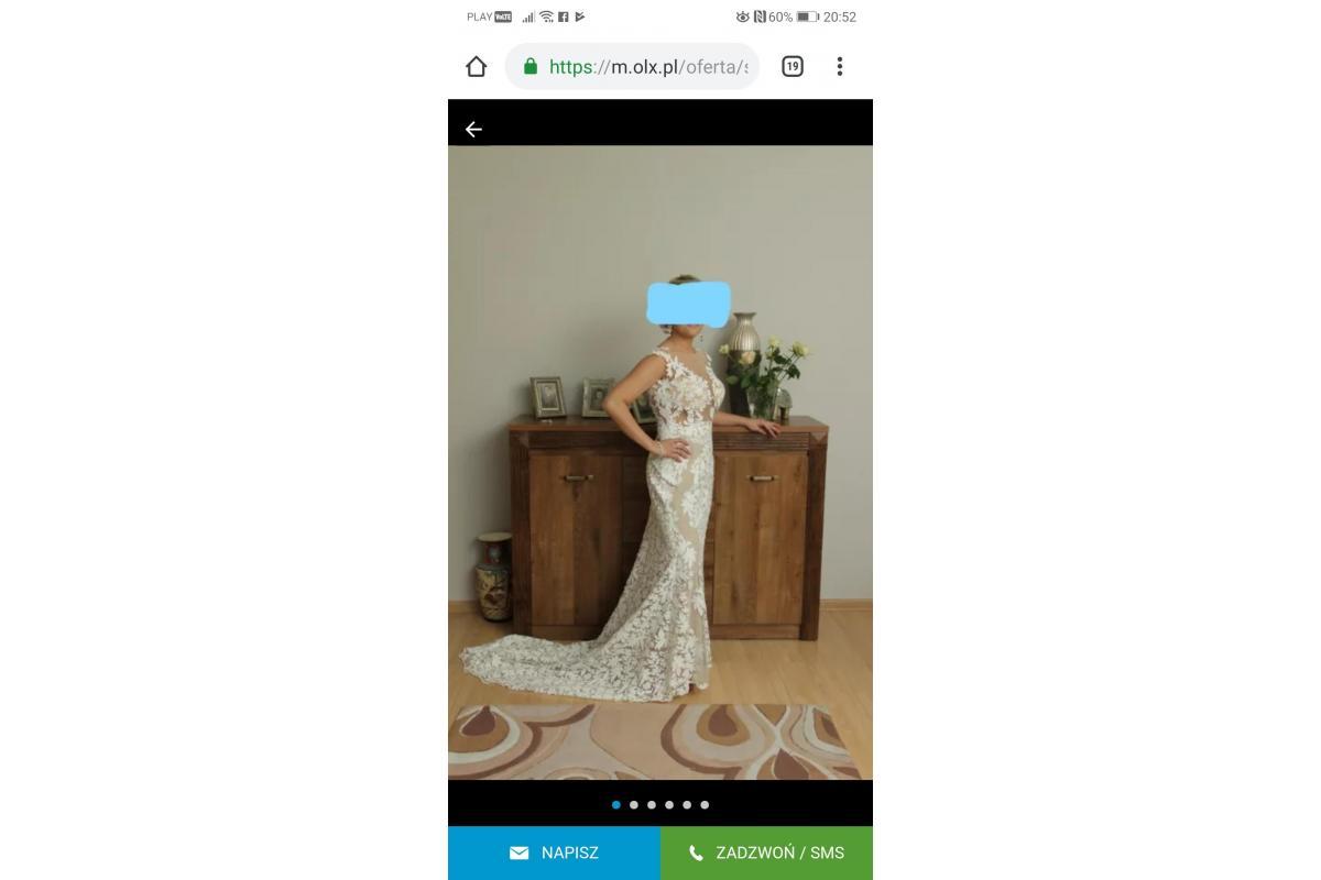 Suknia ślubna salonu Madonna