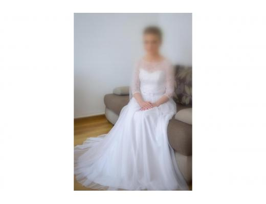 Biała sukn...