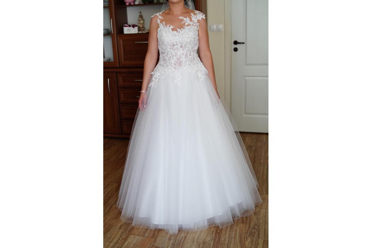 Suknia ślubna Arsenie + welon GRATIS