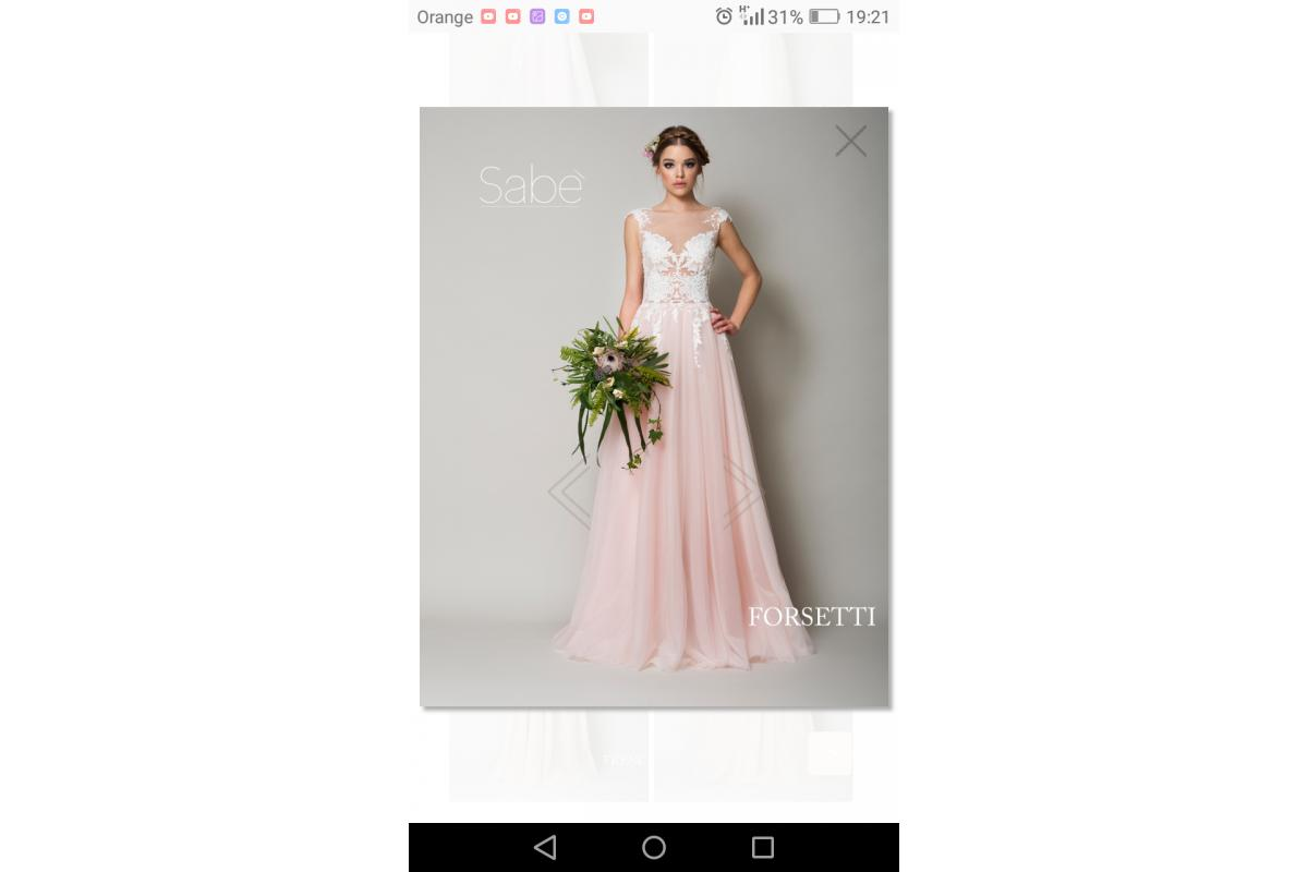 Suknia ślubna Sabe Forsetti