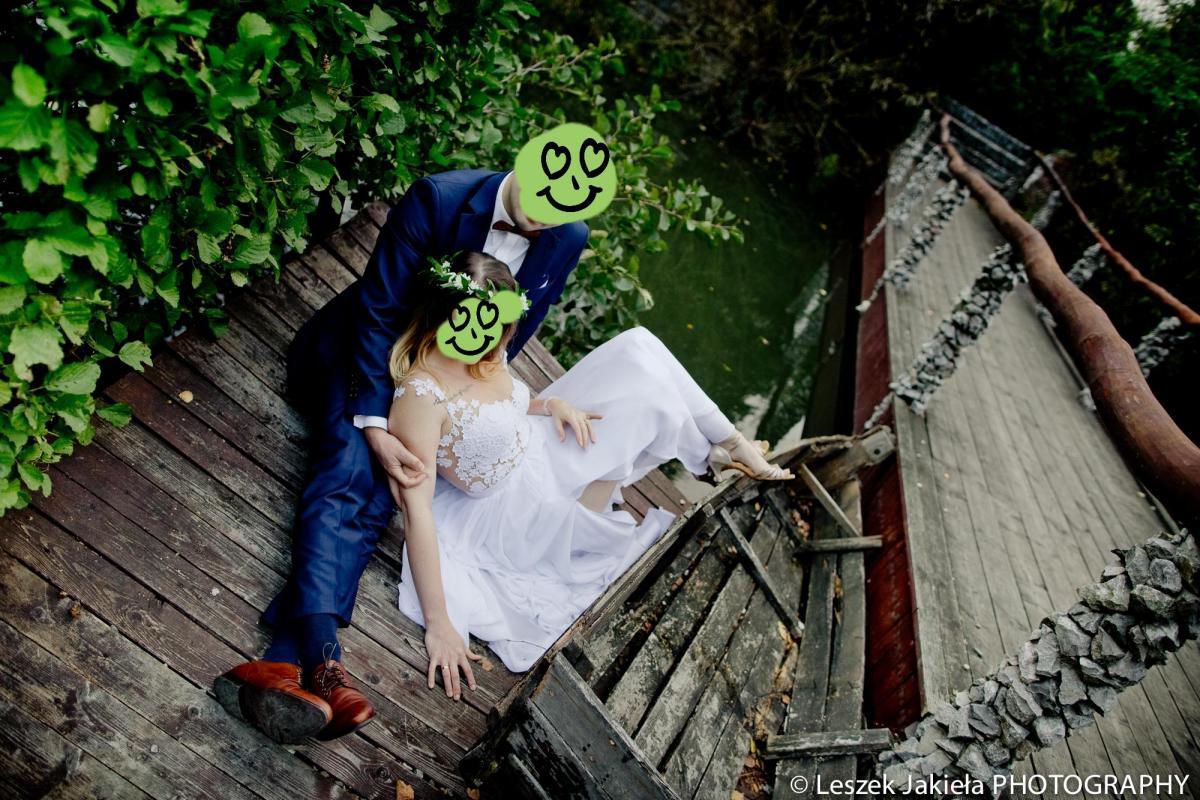 Muślinowa suknia dla romantyczki