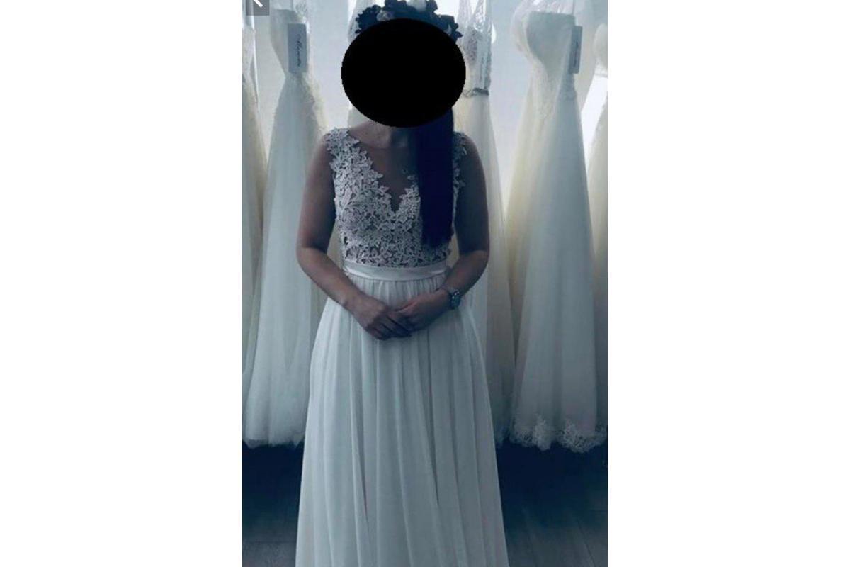 Suknia Ślubna Janine kolekcja 2019