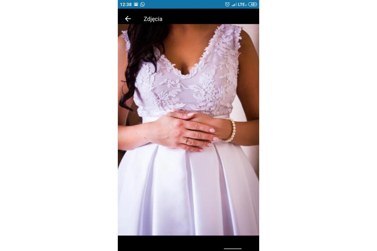 Sprzedam suknię ślubną projektu Violi Piekut