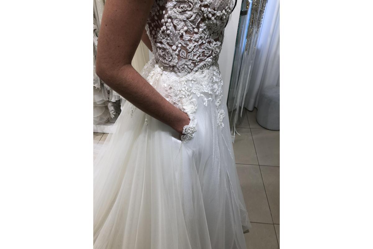 Suknia Ślubna Projektu Patrycji Pardyki