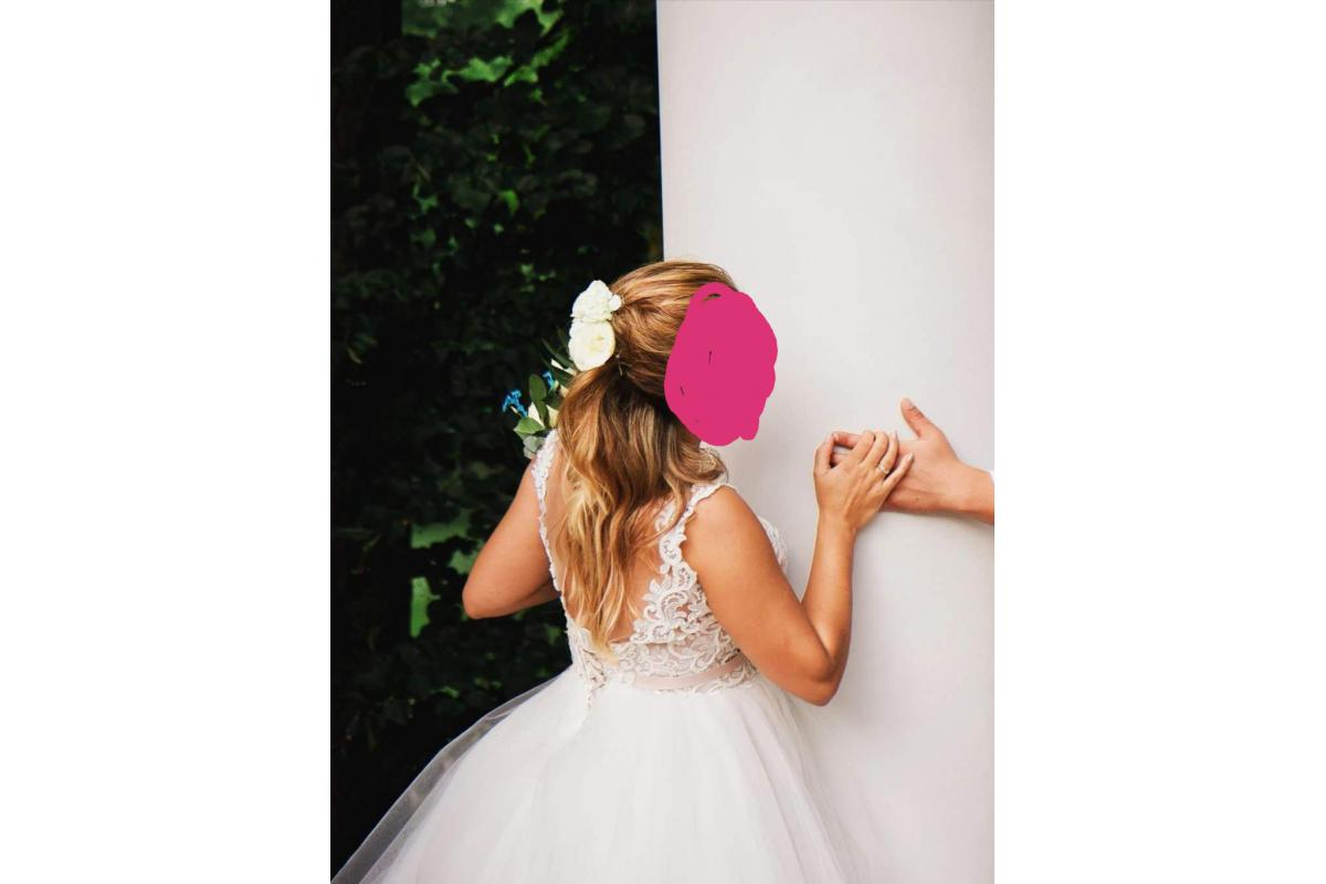 Sprzedam przepiękna suknie ślubna stan bardzo dobry Princess