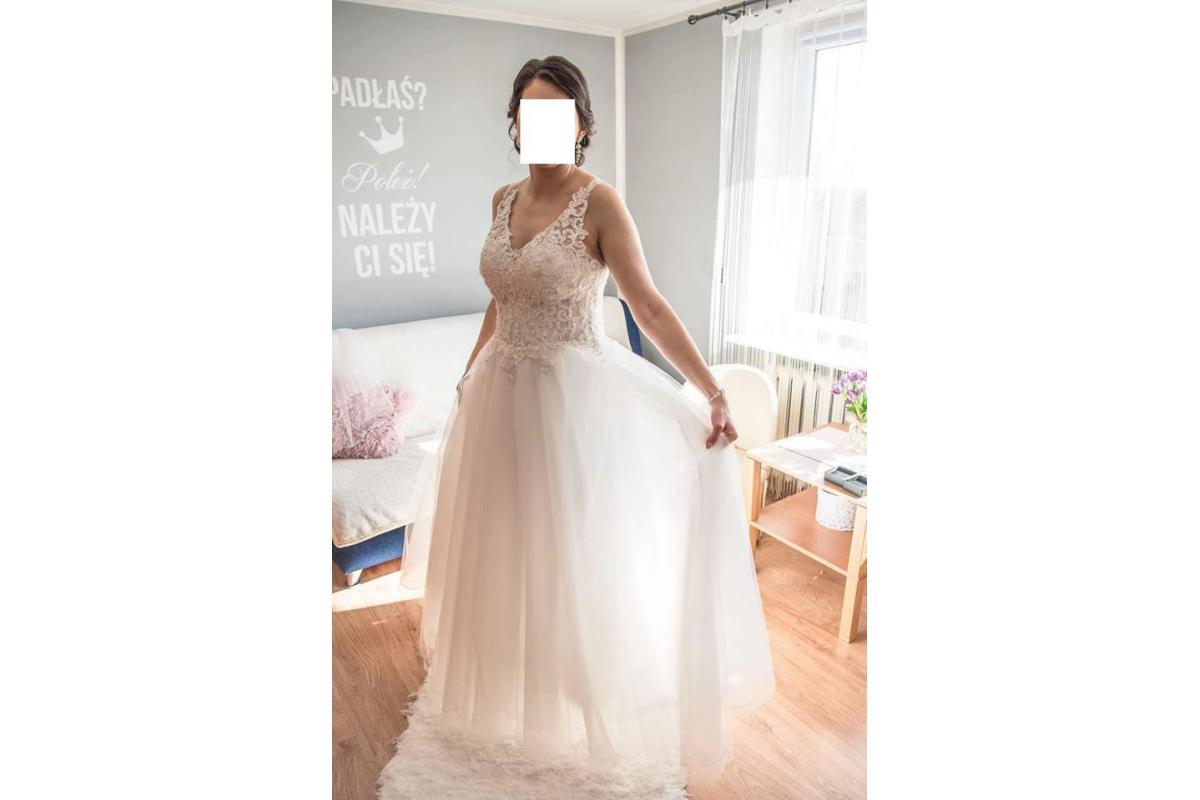 Sprzedam suknię ślubną Mori Lee 6864