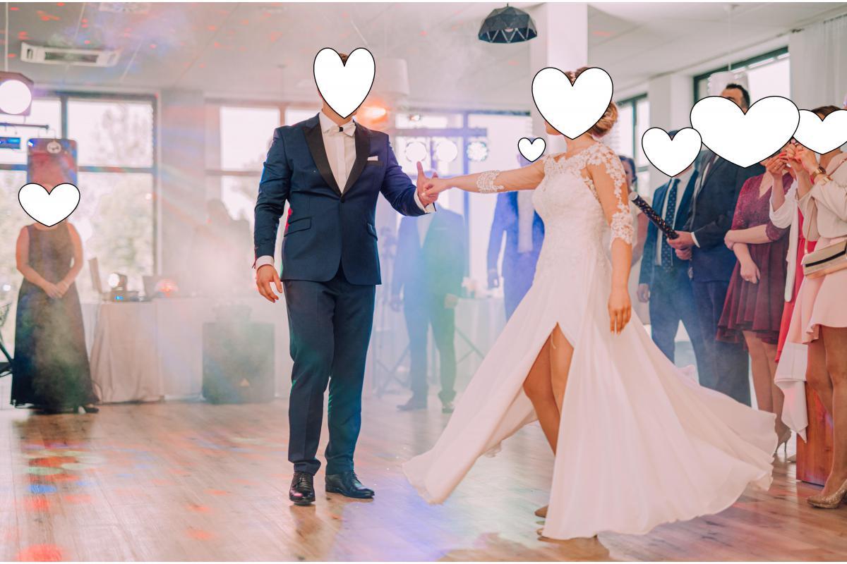 Piękna suknia ślubna model Lilla MS Moda, rozmiar 34