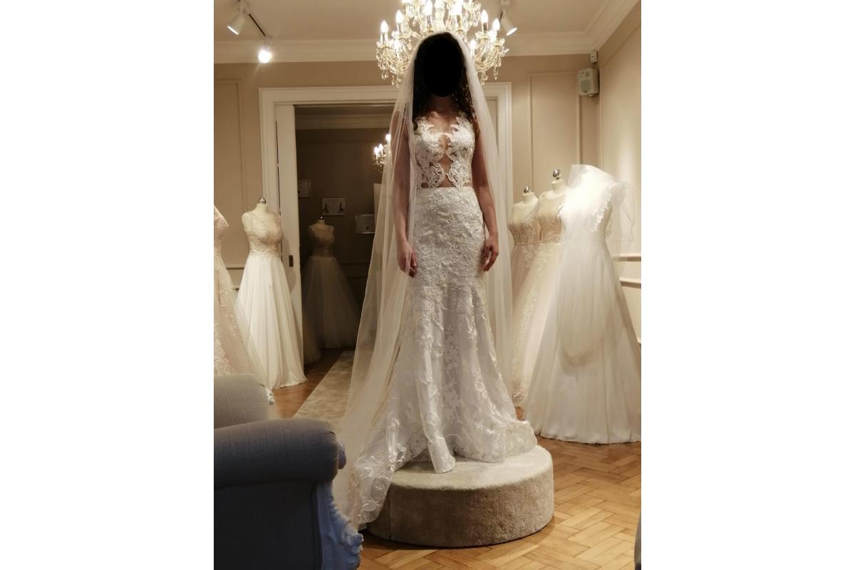 Suknia ślubna syrenka