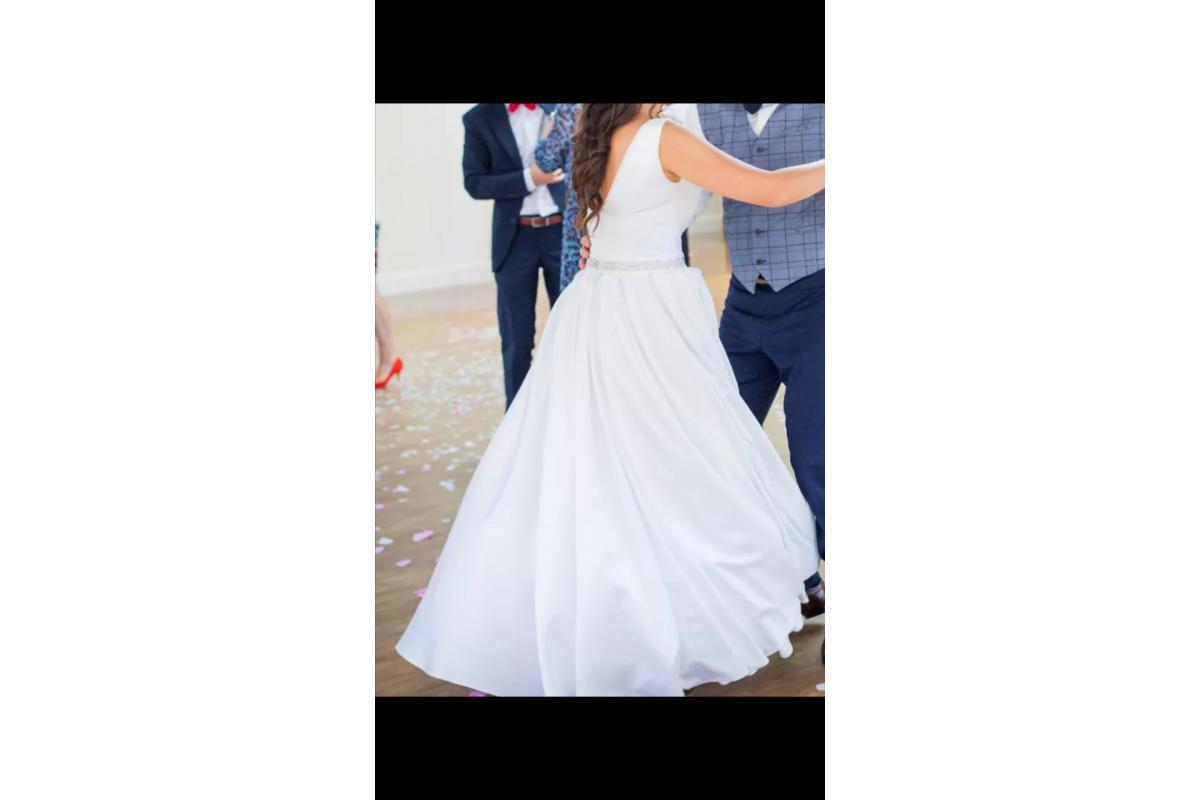 Suknia ślubna elegancka, klasyczna