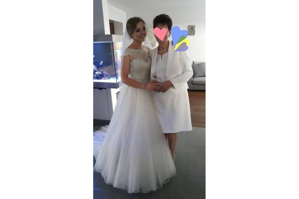 Suknia ślubna Justin Alexander 8724 kolor ivory 36/38
