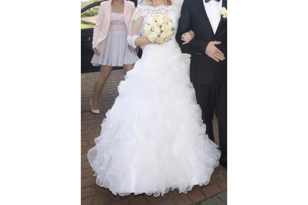 Piękna Suknia Ślubna ANNAIS BRIDAL roz. 34/36/38