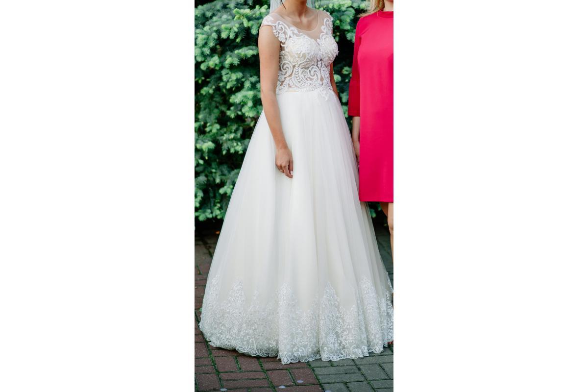 Suknia ślubna Elle Cappuccino