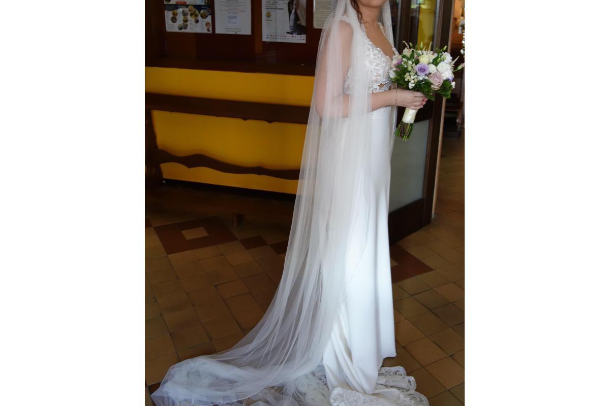 suknia ślubna+ welon
