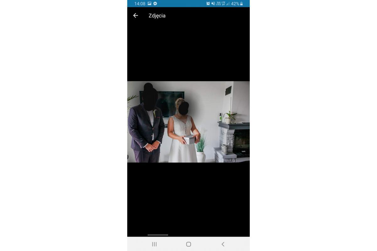 Suknia ślubna SABE welon gratis