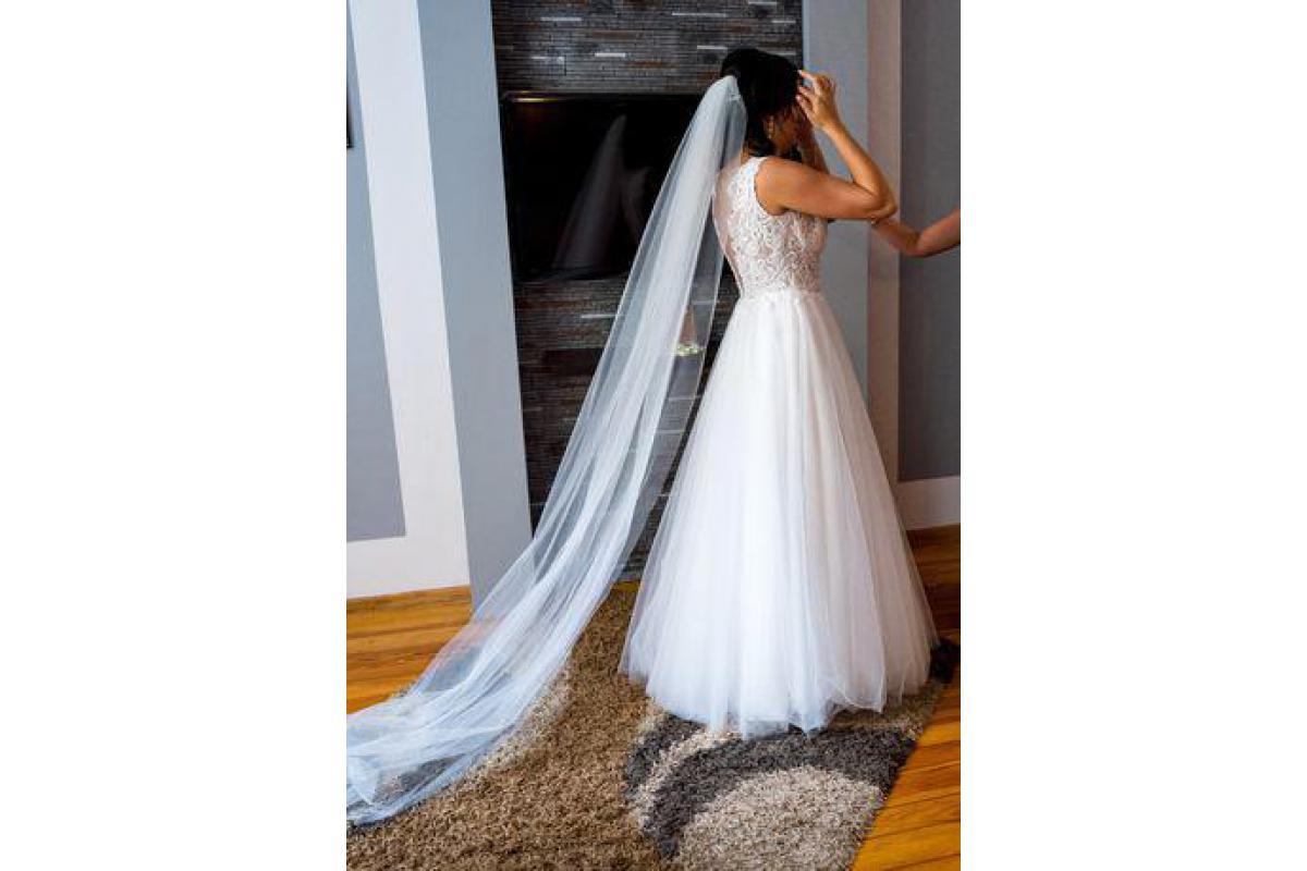Suknia Ślubna Agnes TO-863 +