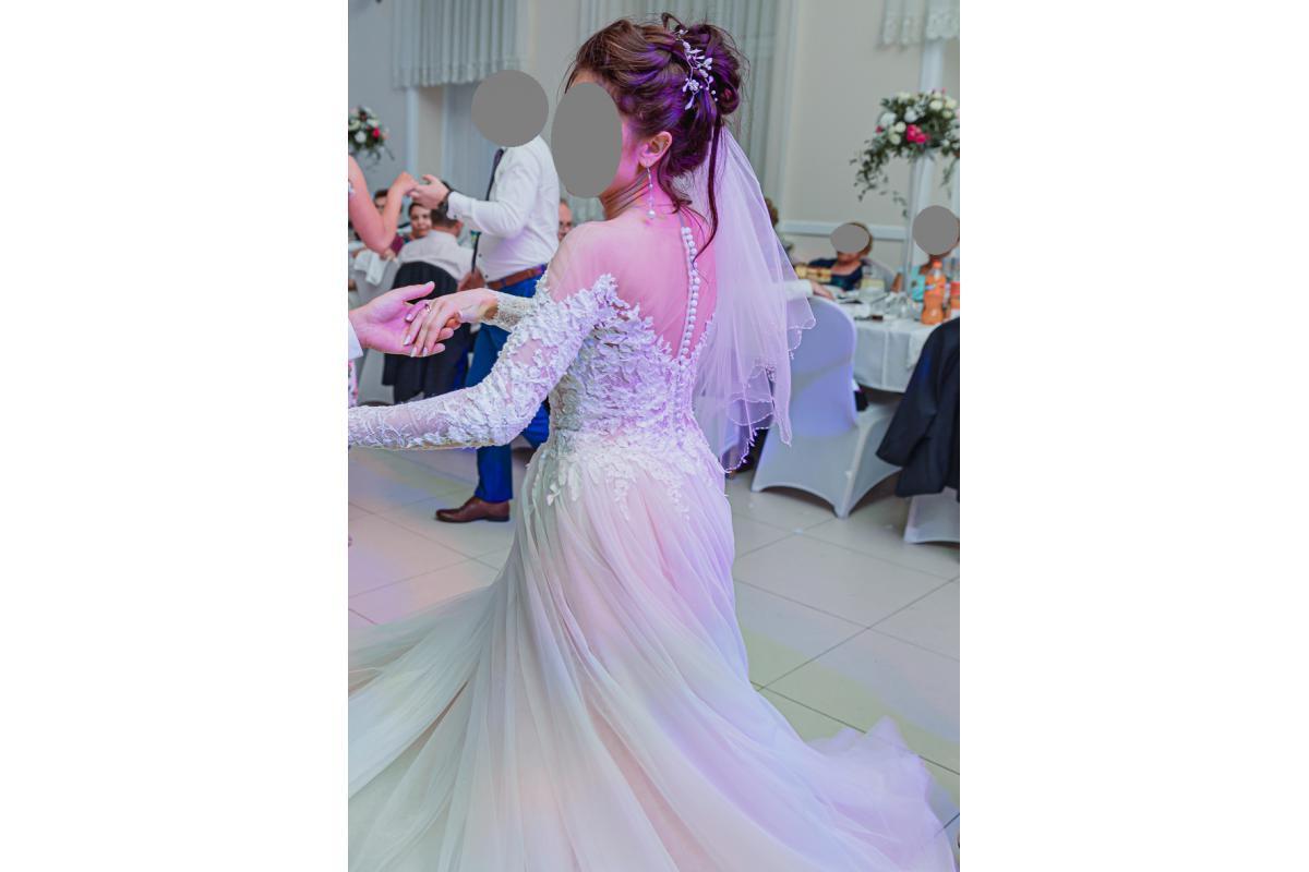 Piękna suknia ślubna firmy Duber 36/38