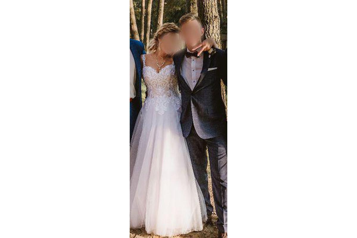 Piękna sukienka ślubna