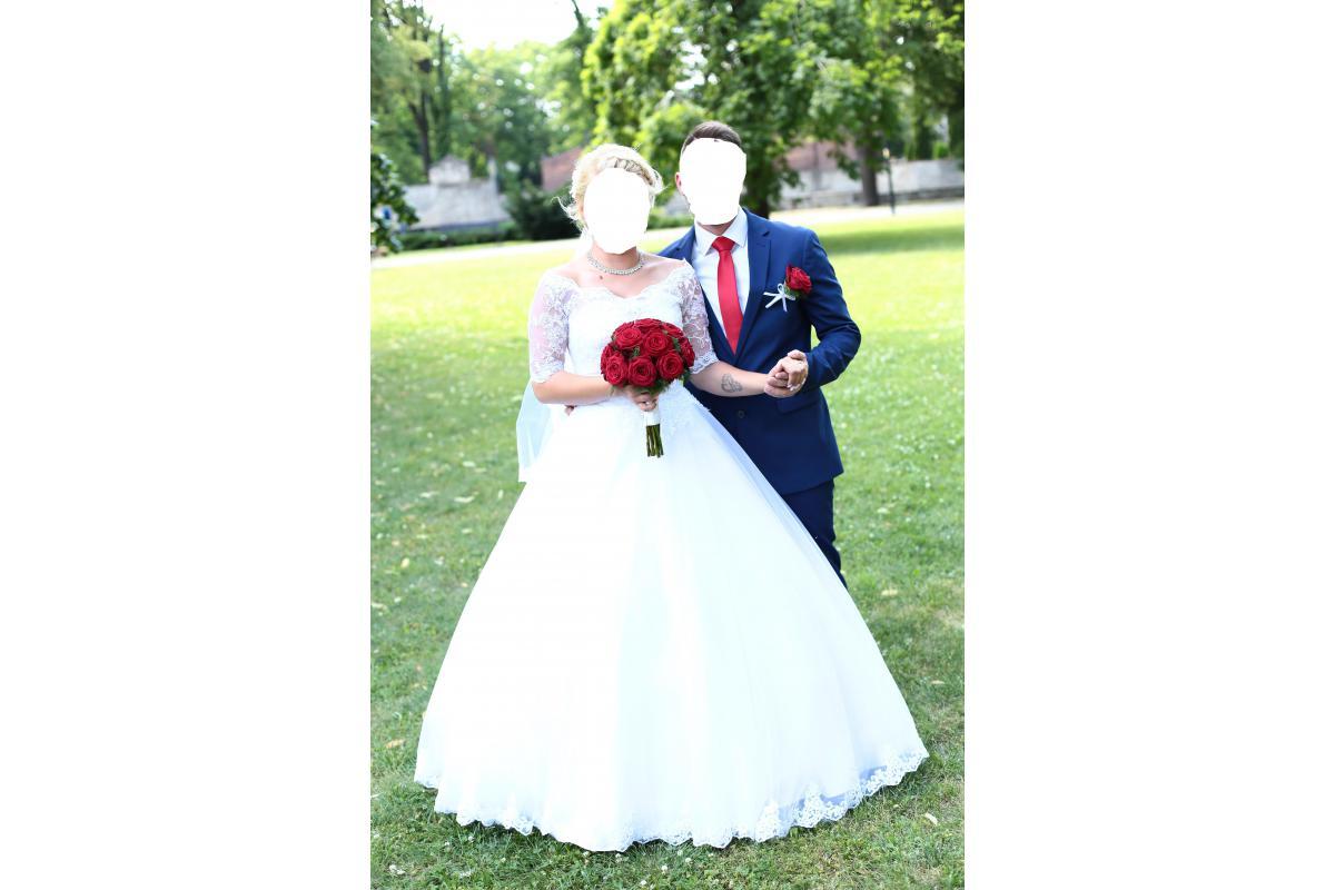 Suknia Ślubna, kolor biała