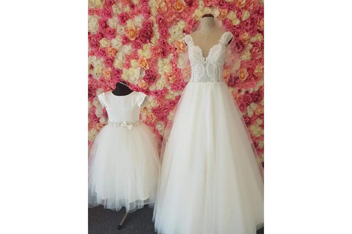 Unikatowa suknia ślubna!