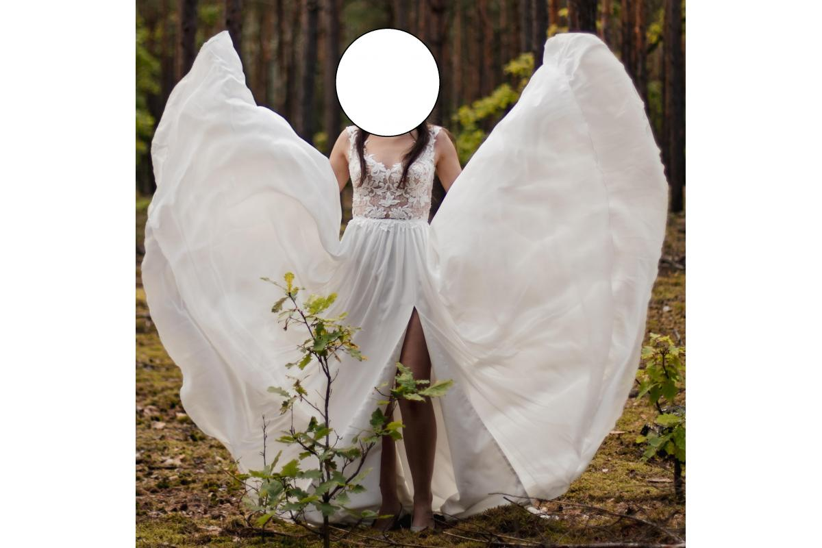 Sprzedam suknie ślubną z salonu Herm's Bridal
