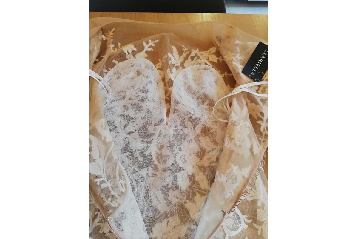 NOWA suknia Dominiss, Everest (cielista halka) + przymiarki w salonie