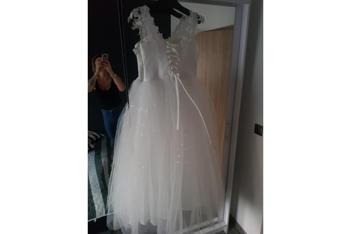NOWA suknia ślubna księżniczka 38