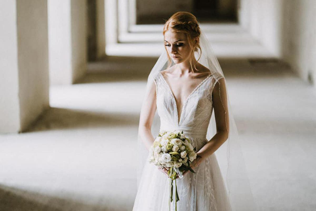 Suknia ślubna model Elisa by Daniela di Marino