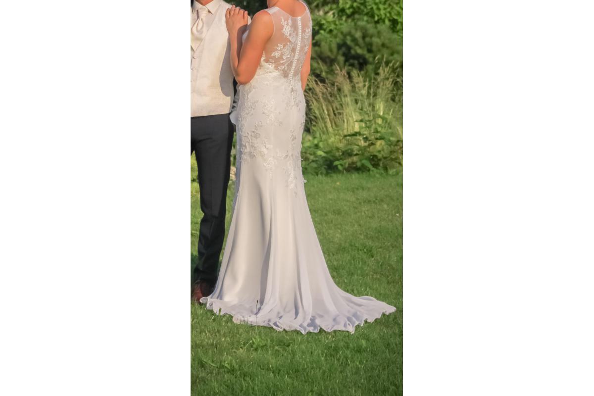 Suknia Ślubna MS Moda 40 180 cm