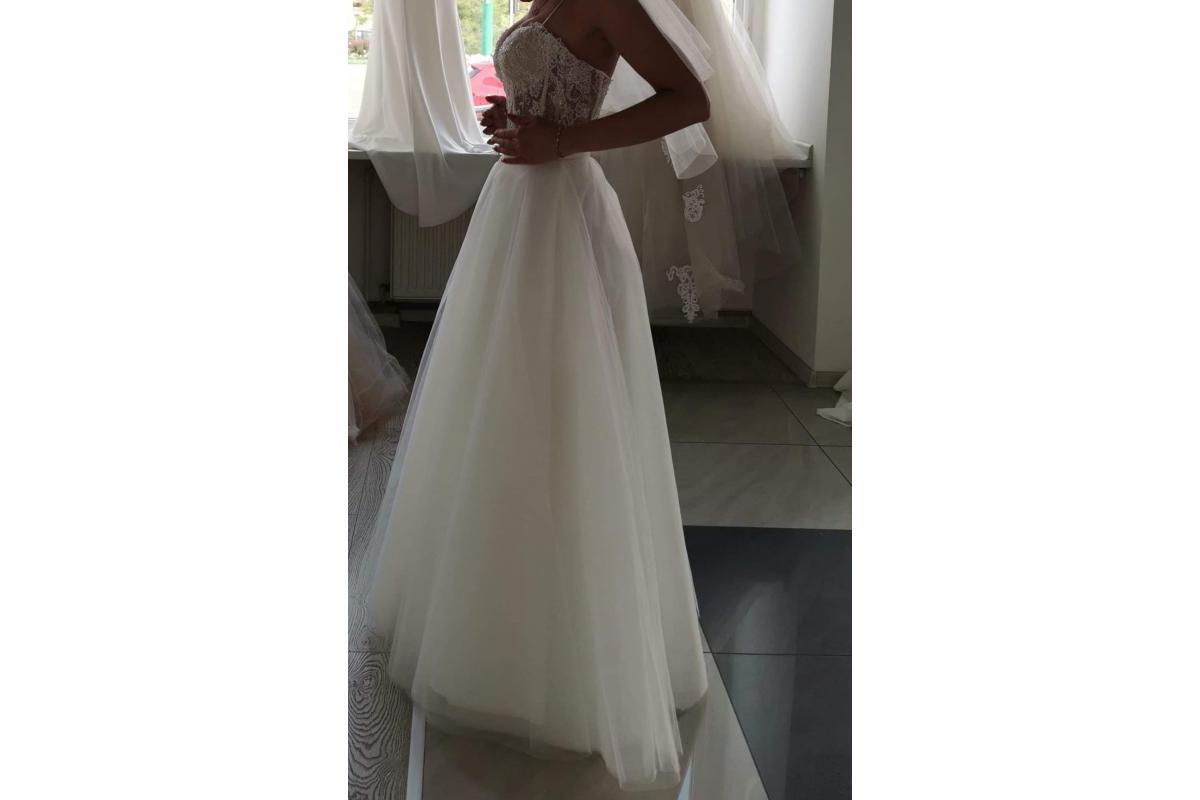 Sprzedam suknie ślubną rozmiar 34-36