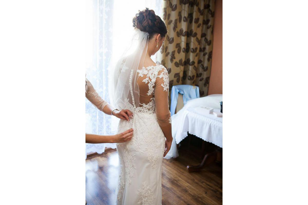 Piękna suknia ślubna :) - niepowtarzalna