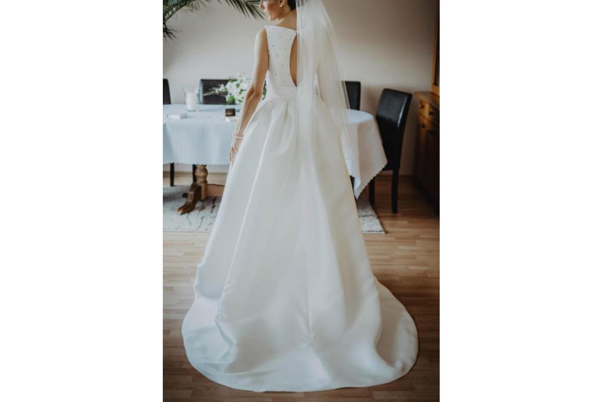 Elegancka suknia ślubna Vanilla Sposa Brusel