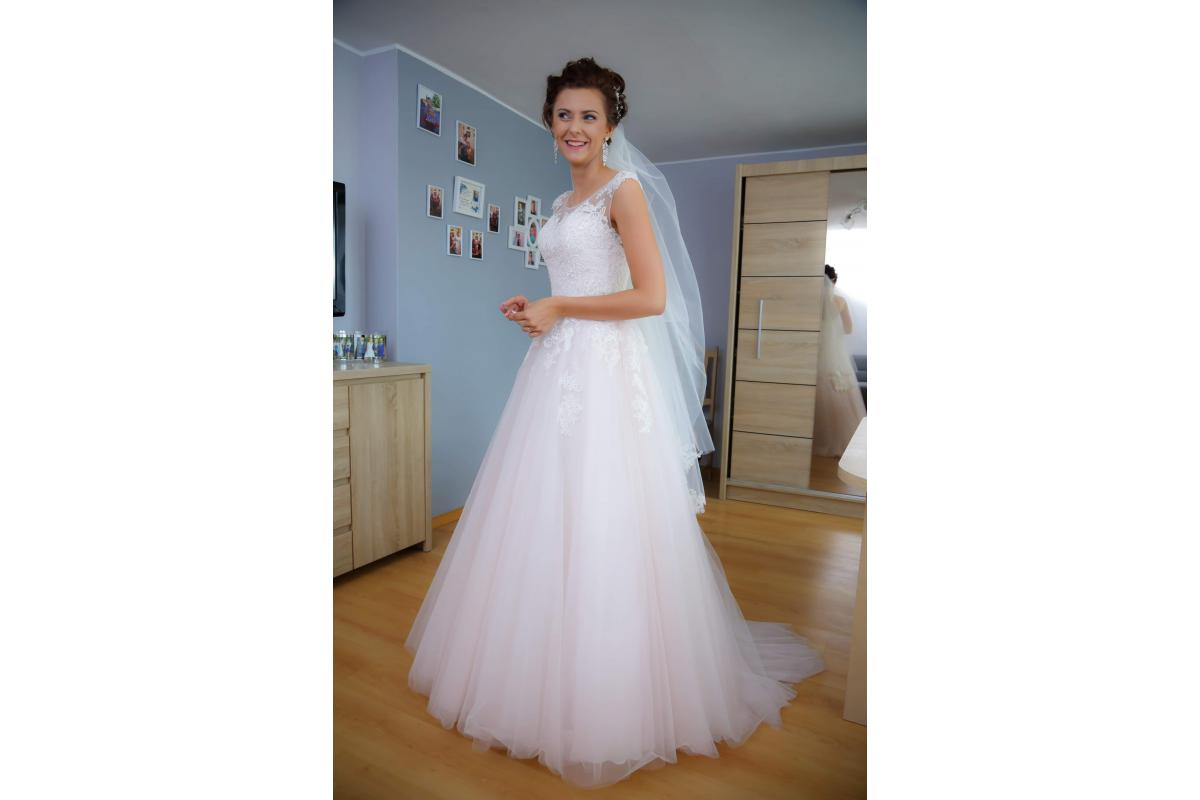 Suknia ślubna MARIO IV RÓŻ
