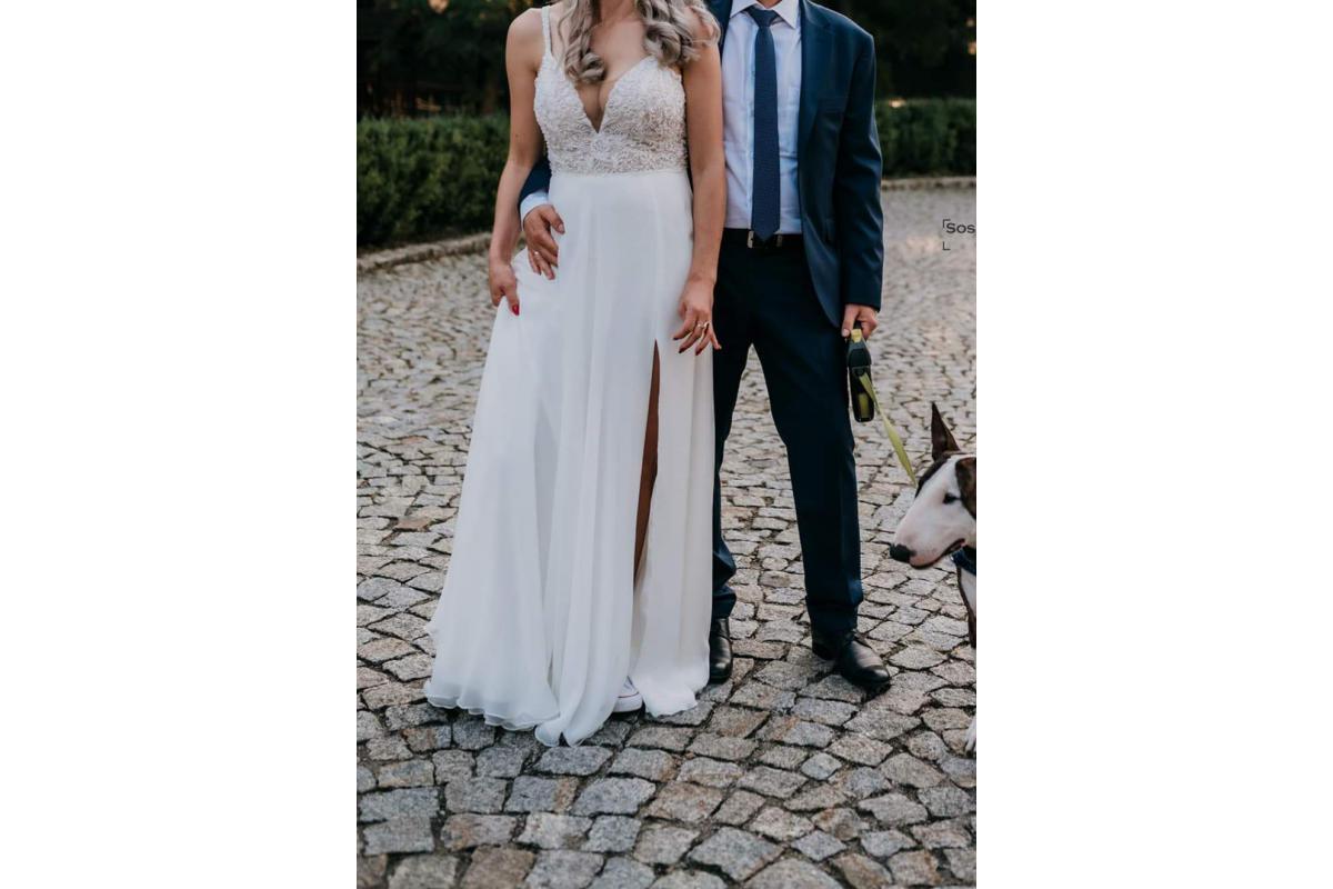 Sprzedam suknię Justin Alexander roz 38