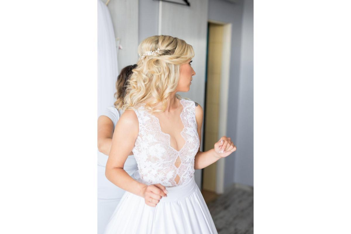 Wyjątkowa suknia ślubna 34/36