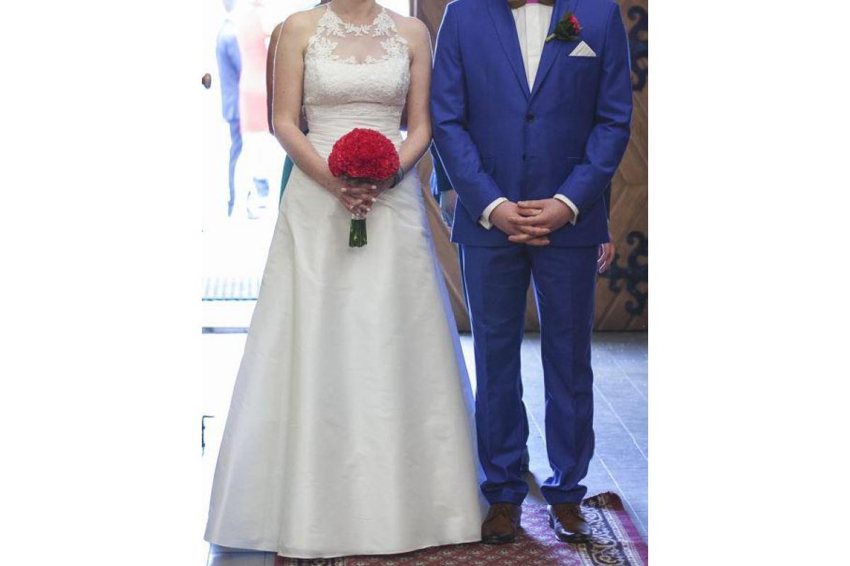 Wygodna suknia ślubna