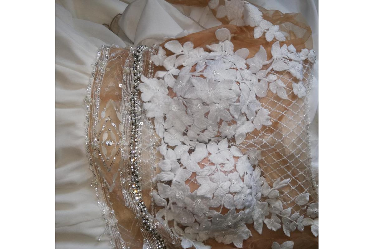 Piękna i niepowtarzalna suknia ślubna Milla Nova